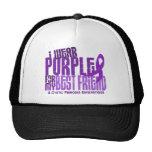 I Wear Purple For Best Friend 6.4 Cystic Fibrosis Trucker Hat