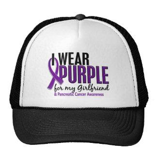 I Wear Purple For Girlfriend 10 Pancreatic Cancer Trucker Hat