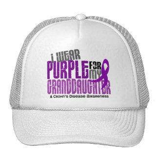 I Wear Purple For Granddaughter 6 Crohn's Disease Trucker Hat