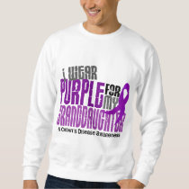 I Wear Purple For Granddaughter 6 Crohn's Disease Sweatshirt