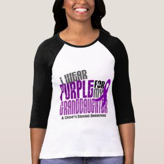 I Wear Purple For Granddaughter 6 Crohn's Disease Tee Shirt
