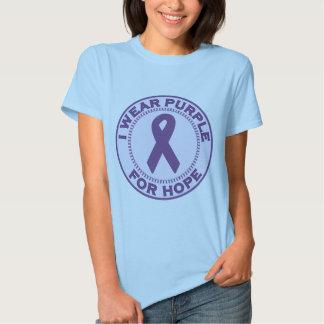 I Wear Purple For Hope Shirt