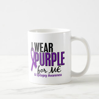 I Wear Purple For ME 10 Epilepsy Coffee Mug