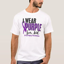 I Wear Purple For ME 10 Epilepsy T-Shirt