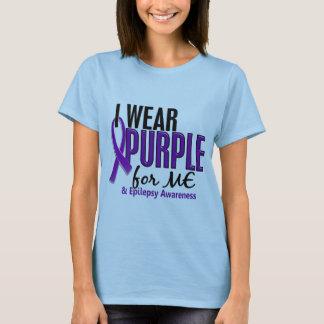 I Wear Purple For ME 10 Epilepsy T-Shirt
