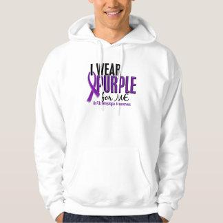 I Wear Purple For ME 10 Fibromyalgia Hoodie