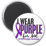 I Wear Purple For ME 10 Fibromyalgia Refrigerator Magnets