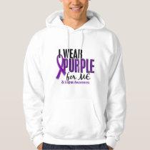 I Wear Purple For ME 10 Lupus Hoodie
