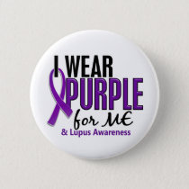 I Wear Purple For ME 10 Lupus Pinback Button