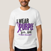 I Wear Purple For ME 10 Lupus T-shirts