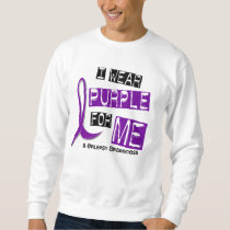 I Wear Purple For Me 37 Epilepsy Sweatshirt