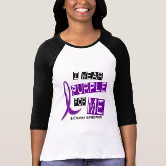 I Wear Purple For Me 37 Epilepsy T-Shirt