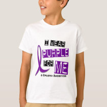 I Wear Purple For Me 37 Epilepsy T-Shirt