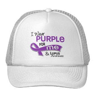 I Wear Purple For Me 42 Lupus Hat