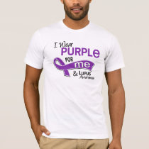 I Wear Purple For Me 42 Lupus T-Shirt