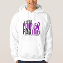 I Wear Purple For ME 6 Crohn's Disease Hoodie