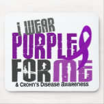 I Wear Purple For ME 6 Crohn's Disease Mouse Pad