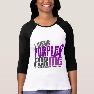 I Wear Purple For ME 6 Crohn's Disease T-Shirt