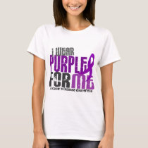 I Wear Purple For ME 6 Crohn's Disease T-Shirt