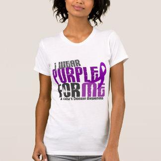 I Wear Purple For ME 6 Crohn's Disease Tank