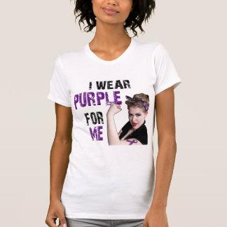 I wear Purple for ME Shirts