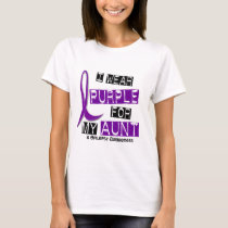 I Wear Purple For My Aunt 37 Epilepsy T-Shirt