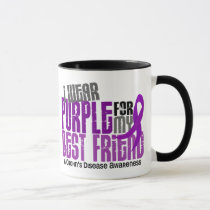 I Wear Purple For My Best Friend 6 Crohn's Disease Mug