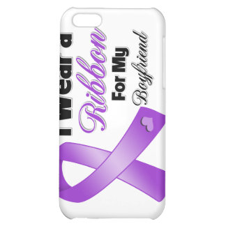 I Wear Purple For My Boyfriend png Case For iPhone 5C