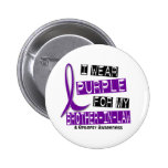 I Wear Purple For My Brother-In-Law 37 Epilepsy Pin