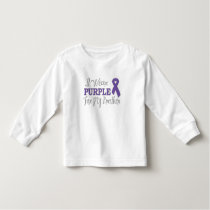 I Wear Purple For My Brother (Purple Ribbon) Toddler T-shirt