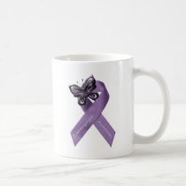 I wear purple for my .... coffee mug
