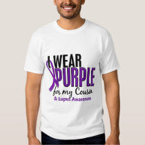 I Wear Purple For My Cousin 10 Lupus Shirt