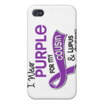 I Wear Purple For My Cousin 42 Lupus iPhone 4/4S Cases