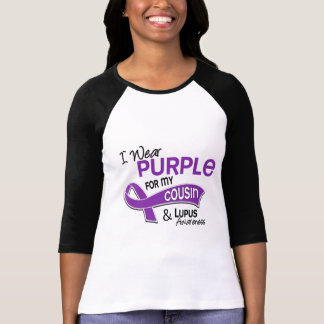 I Wear Purple For My Cousin 42 Lupus T-shirts