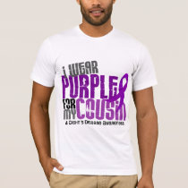 I Wear Purple For My Cousin 6 Crohn's Disease T-Shirt