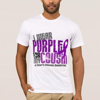 I Wear Purple For My Cousin 6 Crohn's Disease T-Shirt