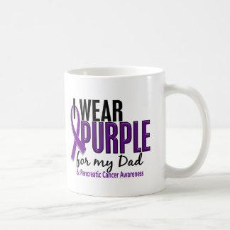 I Wear Purple For My Dad 10 Pancreatic Cancer Mug