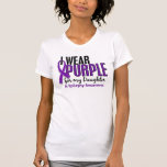 I Wear Purple For My Daughter 10 Epilepsy Shirt