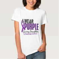 I Wear Purple For My Daughter 10 Fibromyalgia Tshirts