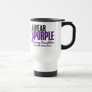 I Wear Purple For My Daughter 10 Lupus Travel Mug