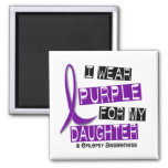 I Wear Purple For My Daughter 37 Epilepsy Refrigerator Magnets