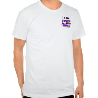 I Wear Purple For My Daughter 37 Epilepsy T-shirt