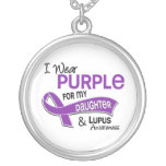 I Wear Purple For My Daughter 42 Lupus Pendants