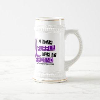 I Wear Purple For My Friend 37 Epilepsy Mug