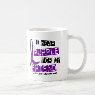 I Wear Purple For My Friend 37 Epilepsy Coffee Mugs