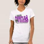 I Wear Purple For My Friend 6 Crohn's Disease Tshirts