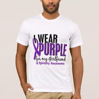 I Wear Purple For My Girlfriend 10 Epilepsy T-Shirt