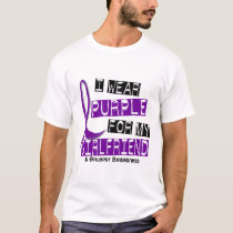 I Wear Purple For My Girlfriend 37 Epilepsy T-Shirt
