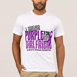 I Wear Purple For My Girlfriend 6 Crohn's Disease T-Shirt