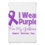 I Wear Purple For My Girlfriend iPad Mini Case